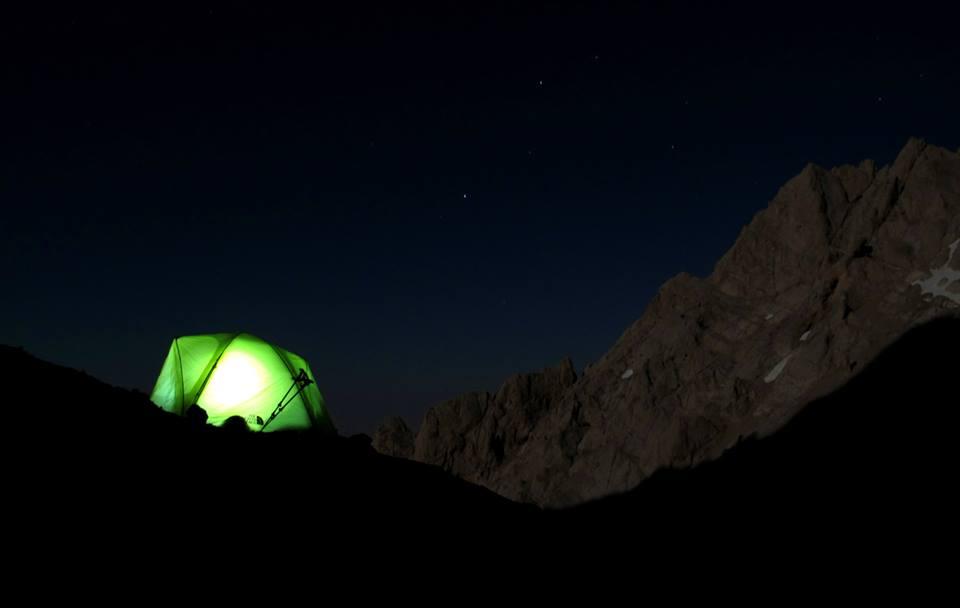 Çelikbuyduran Kampında Gece