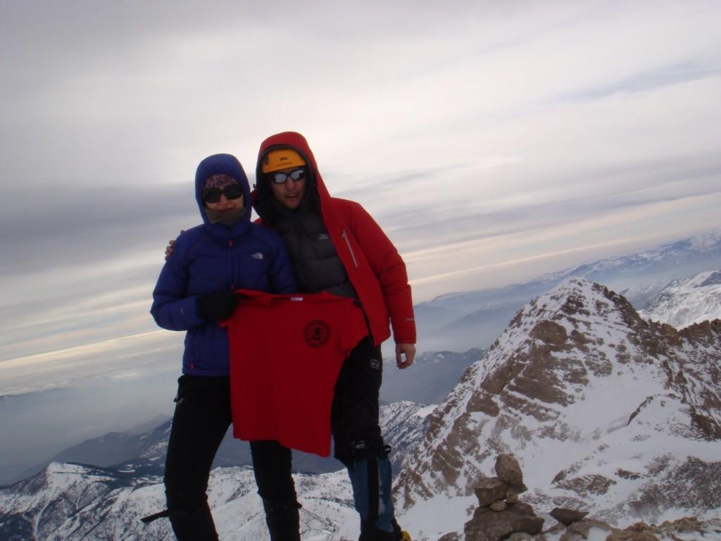 Seval ve Alican Zirvede