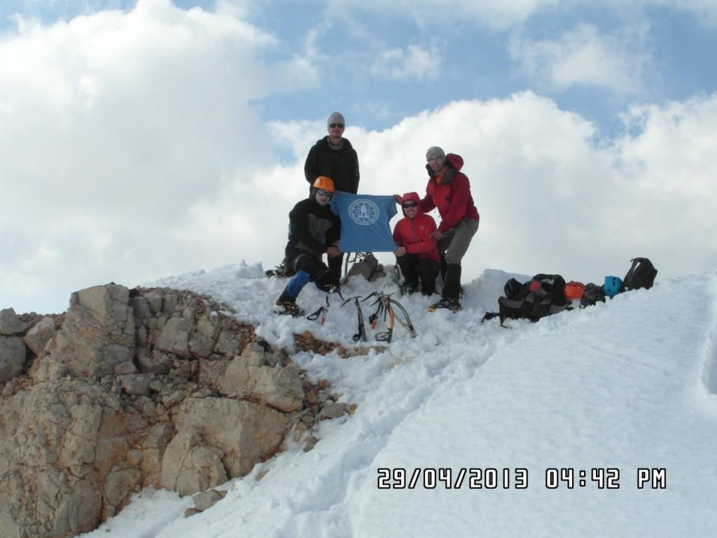 Kızılkaya Zirve(3773m)