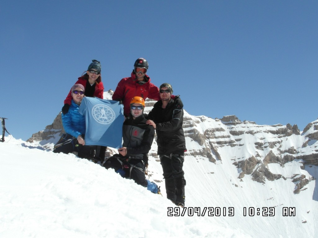 Karasay Zirve(3550m)